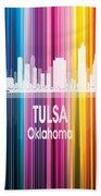 Tulsa Ok 2 Vertical Beach Sheet