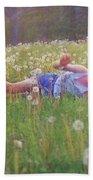 Tumble In The Grass Beach Sheet
