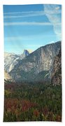 Tunnel View Yosemite Beach Towel