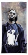 Tupac Shakur Beach Towel
