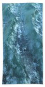 Turbulence Beach Towel