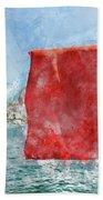 Turkish Flag Beach Towel