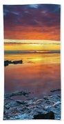 Turnagain Arm Sunset Beach Towel