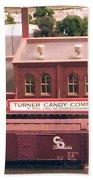 Turner Candy Company Beach Towel