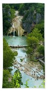 Turner Falls Grand View Two Beach Towel
