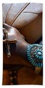 Turquoise Bracelet  Beach Towel by Susanne Van Hulst