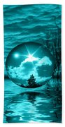 Turquoise Dreams Beach Towel