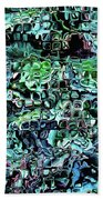 Turquoise Garden Of Glass Beach Towel