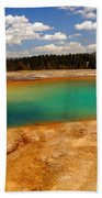 Turquoise Pool  Beach Towel