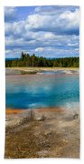 Turquoise Pool, Yellowstone Beach Towel
