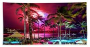 Turtle Bay - Independence Day Beach Towel