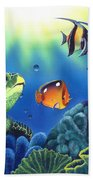 Turtle Dreams Beach Towel