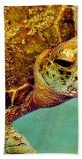Turtle Life Beach Towel