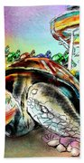 Turtle Slide Beach Towel