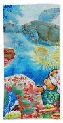 Turtle Territory Beach Towel