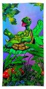 Turtle Trampoline Beach Towel