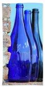 Tuscan Blue Reflections Beach Towel