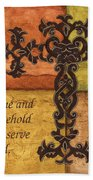 Tuscan Cross Beach Towel by Debbie DeWitt
