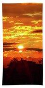 Tuscan Sunset Beach Towel