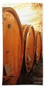 Tuscan Wine Cellar Beach Towel