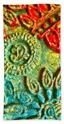 Tuscany Batik Beach Towel