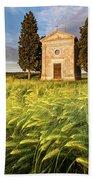 Tuscany Chapel Beach Sheet