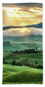 Tuscany Sunburst- Beach Towel