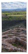 Tuzigoot National Monument Beach Towel