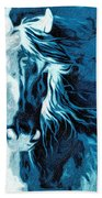 Twilight At Alcalde Beach Towel