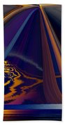 Twilight Journey Beach Towel