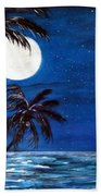 Twilight On The Bay Beach Towel