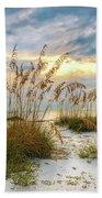 Twilight Sea Oats Beach Sheet