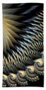 Twilight Wings Beach Towel