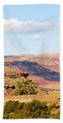 Twin Buttes Beach Towel