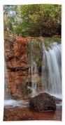 Twin Falls At Ironstone Gully Beach Towel
