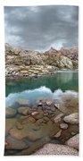 Twin Lakes - Weminuche Wilderness - Colorado Beach Sheet