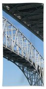Twin Spans Beach Towel