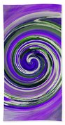 Twirl 02c Beach Towel