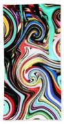 Twisted Lines Beach Towel