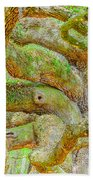 Twists In Time Beach Towel