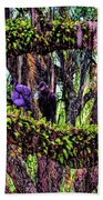 Two Buzzards In A Tree Beach Towel