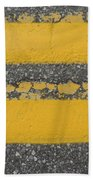 Two Country Yellow Beach Towel