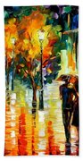 Two Couples Beach Towel