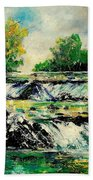 Two Falls Beach Towel