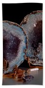 Two Geodes Beach Towel