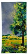 Two Oaks 56 Beach Towel