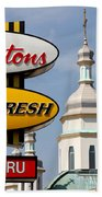 Two Religions Beach Towel