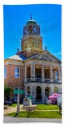 Tyler County Courthouse Beach Towel