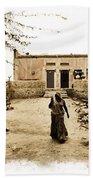 Typical House India Rajasthani Village 1e Beach Towel
