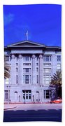 U S Custom House - New Orleans Beach Towel